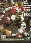 Football 1980 Original Vintage Yearbooks