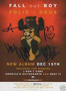 Fall Out Boy Signed