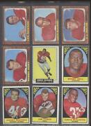 1960 Topps Football Lot
