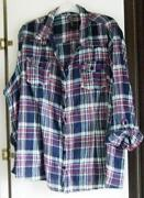 Plus Size Check Shirt