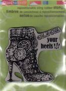 Shoe Rubber Stamp