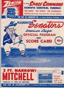 Washington Senators Program