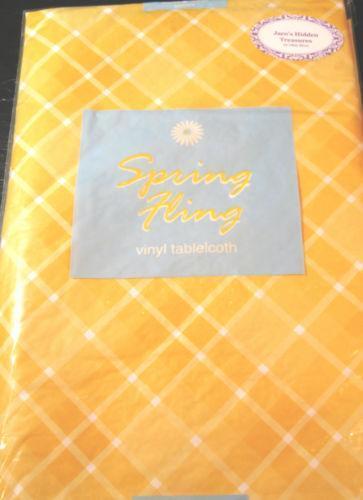Spring Tablecloth Ebay