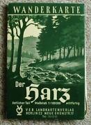 Wanderkarte DDR