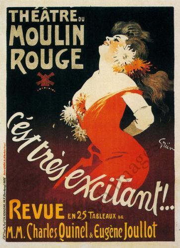 Moulin rouge poster ebay for Poster prints for sale