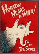 Horton Hears A Who Book