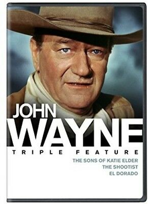 John Wayne Triple Feature [New DVD] Gift Set, Widescreen, 3 Pack, Dolby