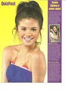 Selena Gomez Clippings