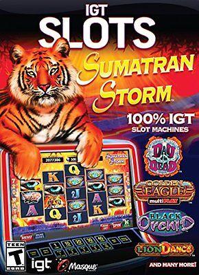 Computer Games - IGT Slots Sumatran Storm PC Games Windows 10 8 7 XP Computer slot machines vegas
