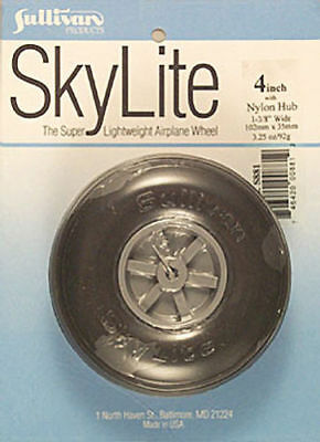 Sullivan Products Skylite Wheel For Rc R C Model Airplanes 4 4  Inch  1  S881