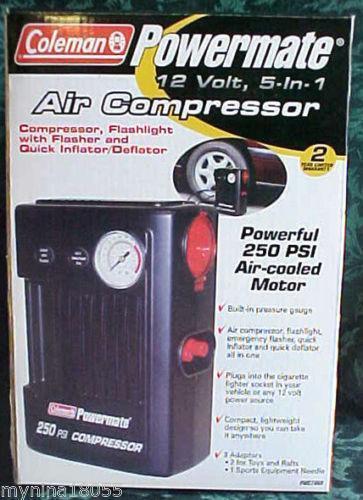 Coleman Air Compressor Ebay