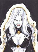 Lady Death Original Art