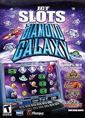 Computer Games - IGT Slots Diamond Galaxy PC Games Windows 10 8 7 XP Computer vegas slot machine