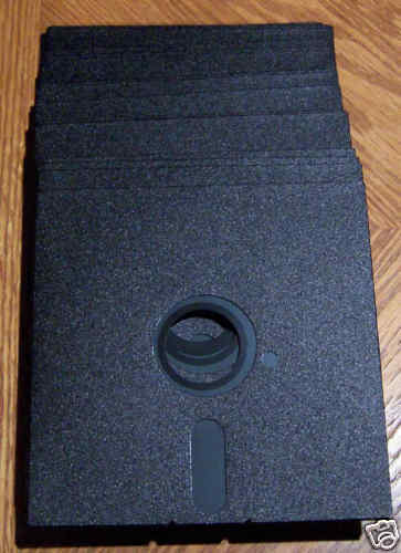 20 5 1/4 DSDD NEW NN NJ Floppy Disk Atari 800/XL/XE New HUB RINGS???