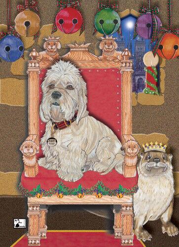 Dandie Dinmont Christmas Cards Set of 10 cards & 10 envelopes