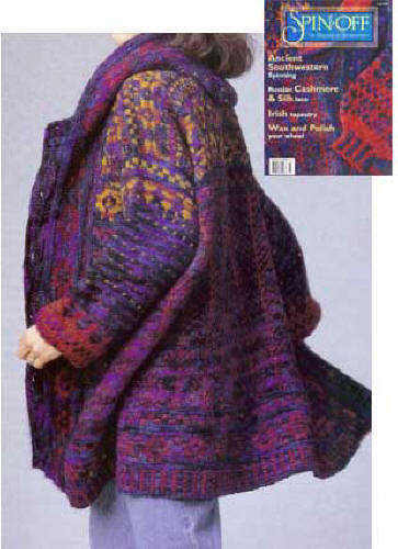 Spin-off mag fall 1997: Russian Cashmere, Irish Tapestry, sweaters, mummy babies