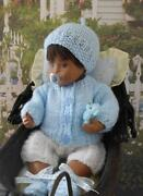 Hand Knitted Reborn Baby Clothes