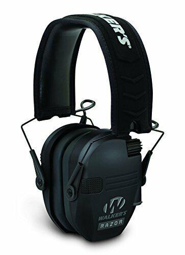 Walkers Razor Slim Shooting Ear Protection 23db Black GWP-RS