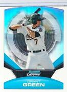 2011 Bowman Chrome Green Refractor