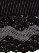 Black Stretch Lace Fabric