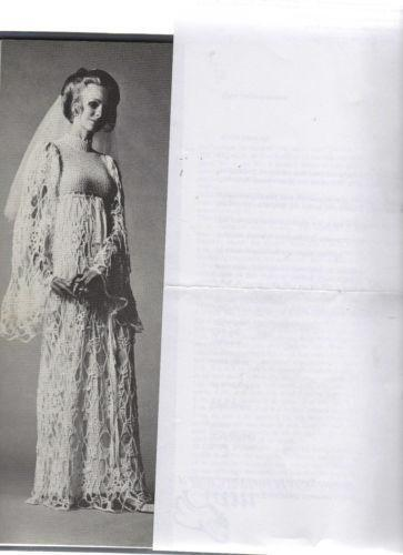 Crochet Wedding Dress Patterns