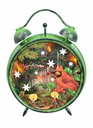 Fantastic Craft Clock with Cardinal, 8.25 x 12.25