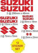Suzuki Bandit Stickers