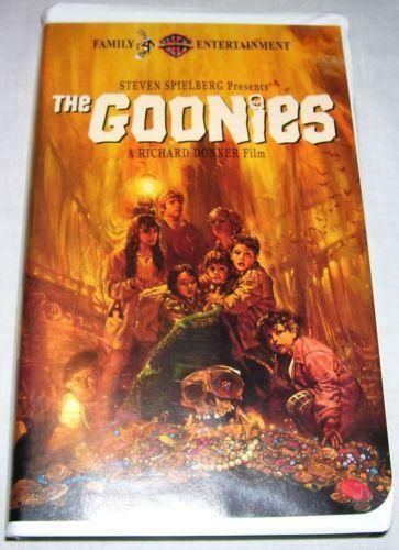 Sell Vhs Tapes >> The Goonies VHS | eBay
