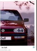 Prospekt VW Golf 3