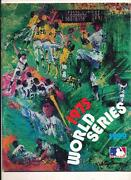 1975 World Series Program