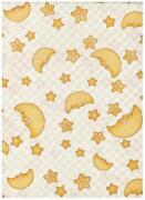 Moon and Stars Fabric