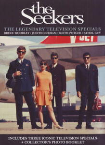 THE SEEKERS - LEGENDARY TELEVISION SPECIALS  -  DVD - UK Compatible