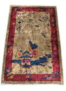 Antique Chinese Deco Rug
