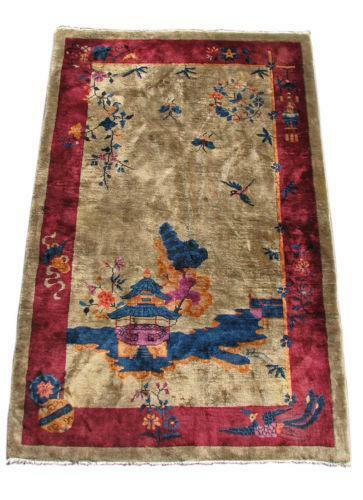 Chinese Art Deco Rug Ebay