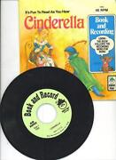Cinderella Book and Record