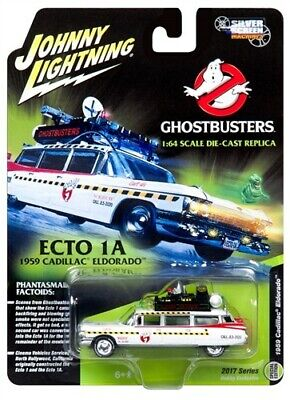 Johnny Lightning Ghostbusters Ecto 1:64 scale Die cast Not hot wheels