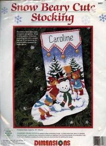 dimensions cross stitch kit lot - Cross Stitch Christmas Stocking Kits