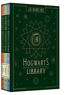 - Hogwarts Library [New Book] Boxed Set, Hardcover