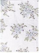 Floral Silk Fabric
