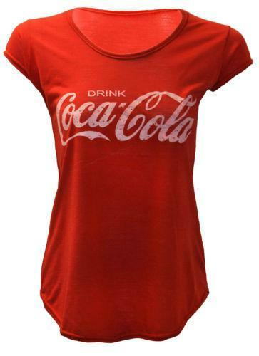 coca cola t shirt ebay. Black Bedroom Furniture Sets. Home Design Ideas