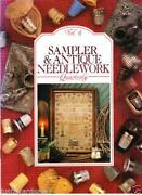 Antique Cross Stitch Sampler