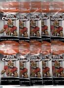 2012 Topps Chrome Orange Refractor Lot