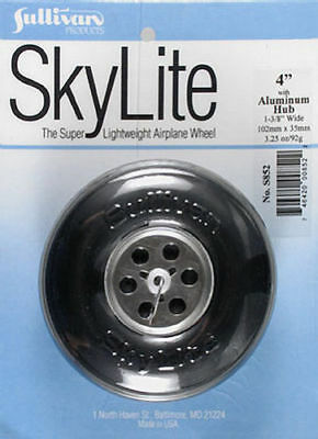 New Sullivan 4  Inch Skylite Wheel With Aluminum Hub For Rc Model Airplanes S852