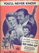 Movie Sheet Music