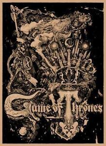game of thrones mondo poster - Halloween Mondo Poster