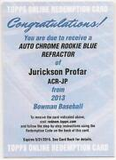 Jurickson Profar Bowman Chrome Auto