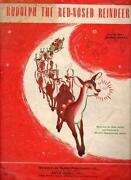 Rudolph The Red Nosed Reindeer Sheet Music