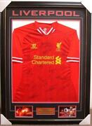 Liverpool Signed Jersey