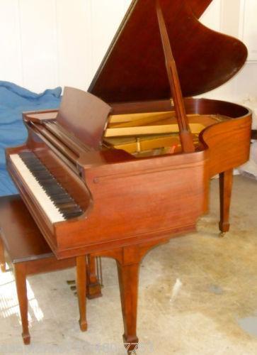 Vintage Baby Grand Piano Ebay