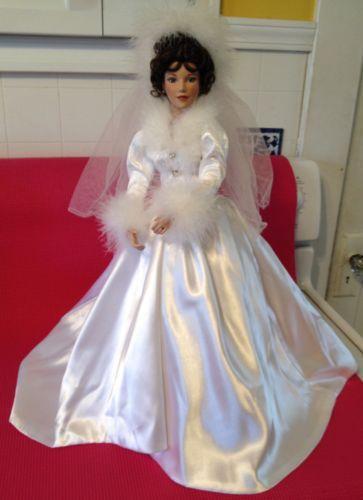 Ashton Drake Porcelain Bride Doll Ebay